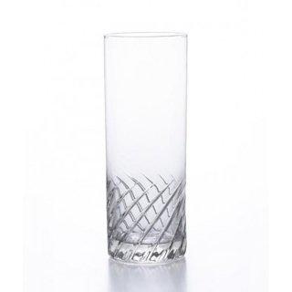 アデリア(石塚硝子) スラッシュ コーリン12 (6個セット) 360ml [日本製 カクテル バー カット グラス 業務用 シンプル 箱入り] (B-2330)