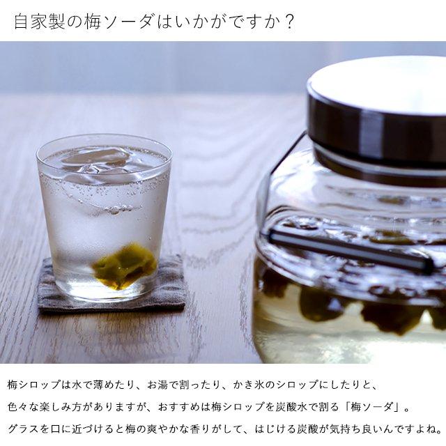 貯蔵びん MCコンテナー4L 果実酒びん 梅びん(816) アデリア/石塚硝子