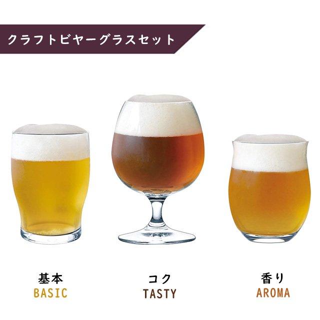 ビアグラス 飲み比べセット 東洋佐々木ガラス