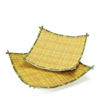 竹風メラミンプレート 四海波 小 91-301S(QPL1102)8-2125-0402