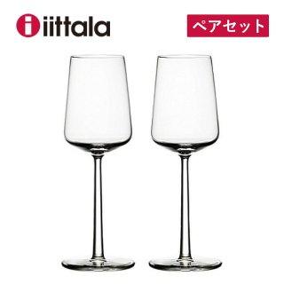ワイングラス iittala イッタラ 330cc ペアセット エッセンス ホワイトワイン (1008567)