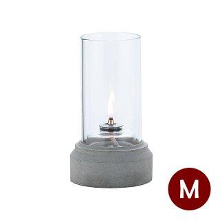 オイルランプ テーブル用 コンクリート 2個 Lunax ルナックス (OL-33-117C)