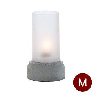 オイルランプ テーブル用 コンクリート 2個 Lunax ルナックス (OL-33-117W)