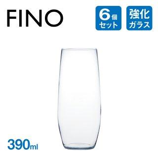 タンブラー 390ml 6個 フィーノ 東洋佐々木ガラス (B-21133CS)