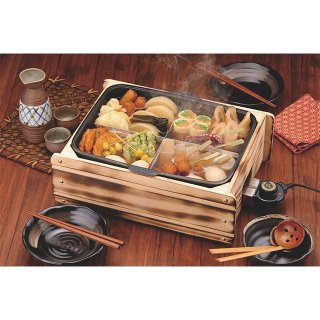 多用途おでん鍋 ふるさとのれん 卓上プレート 電気式 (112080) (家庭用) (業務用) (日本製)
