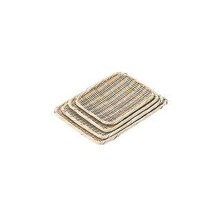 竹製角盆ざる 27cm(039080)