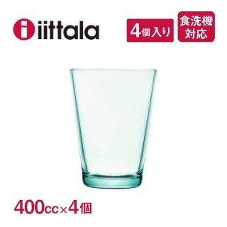 ハイボール iittala イッタラ Kartio カルティオ 400cc ウォーターグリーン 4個セット(1008633)