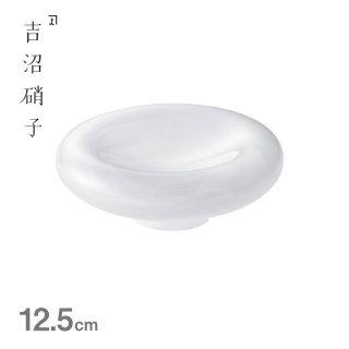 12cm オーモット 白 吉沼硝子(20-185SI)