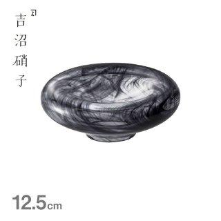 12cm オーモット 黒 吉沼硝子(20-185KU)
