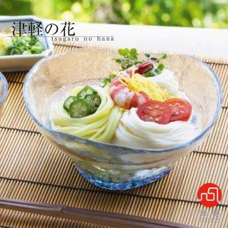 多様鉢 津軽の花 紫陽花 アデリア 石塚硝子 津軽びいどろ(F-71868)