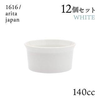 ティーカップ ホワイト ハンドル無 6個セット 140cc 1616/arita japan(192TYTC-NWH)