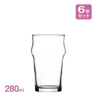 ビアグラス ノニック ハーフパイント 280ml 6個入 アルク(JD-2212)