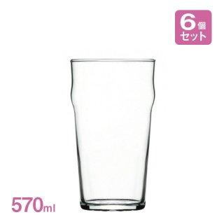 ビアグラス ノニック 1パイント 570ml 6個入 アルク(JD-2228)