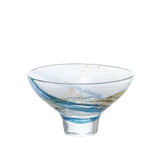盃 江戸硝子 八千代窯 冷酒グラス 盃 120ml 東洋佐々木ガラス (10793)