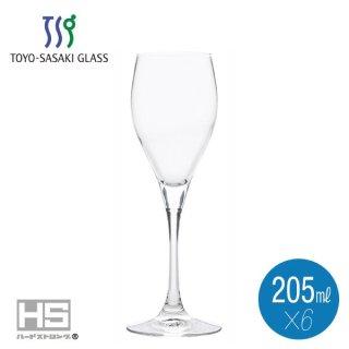 東洋佐々木ガラス ペティオール ビンテージシャンパン 205ml (6個セット) (30M62CS)