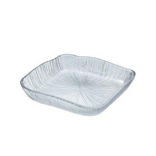 東洋佐々木ガラス なぎさ 角型 角大皿 (1個) (46201)