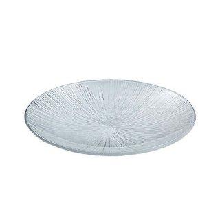なぎさ 丸型 大皿 3枚 東洋佐々木ガラス (46210)