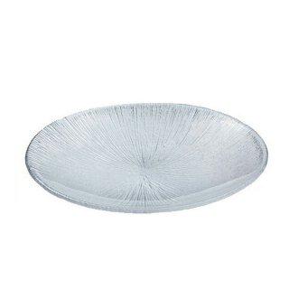 なぎさ 丸型 盛皿 1枚 東洋佐々木ガラス (46212)