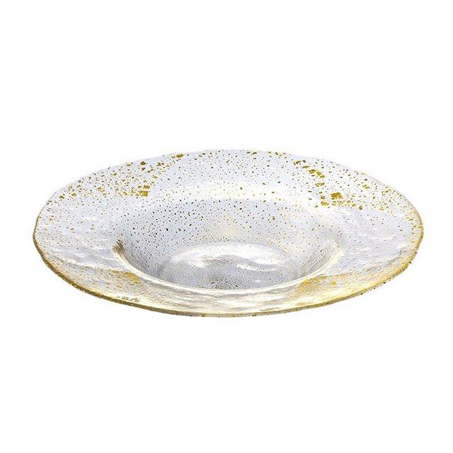 東洋佐々木ガラス オービット・金箔付き リム付ボール280 金箔付き (49021G)