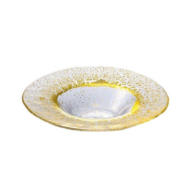 東洋佐々木ガラス オービット・金箔付き リム付ボール210 金箔付き (49022G)