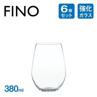 タンブラー 380ml 6個 フィーノ 東洋佐々木ガラス (B-21121CS)