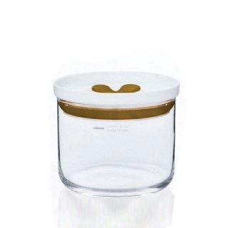 東洋佐々木ガラス キッチンデリ 保存容器キーパーS(ブラウン) 2個セット(B-60802-BR-JAN)