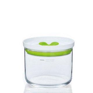 東洋佐々木ガラス キッチンデリ 保存容器キーパーS(オリーブグリーン) 2個セット(B-60802-OG-JAN)