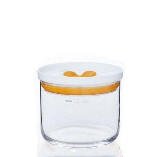 保存容器 キーパーS オレンジ 2個 キッチンデリ 東洋佐々木ガラス (B-60802-OR-JAN)
