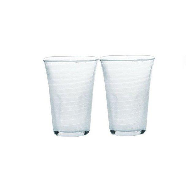 東洋佐々木ガラス 泡立ちぐらす山 ビヤーグラス 2個セット (P-52013-302-2P)