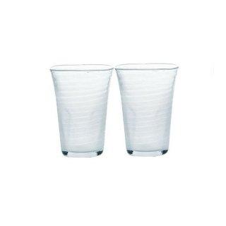 ビールグラス 泡立ちぐらす山 ビヤーグラス 2個 東洋佐々木ガラス (P-52013-302-2P)
