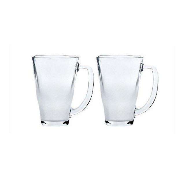 東洋佐々木ガラス 泡立ちぐらす山 マグ 2個セット (P-55441-302-2P)