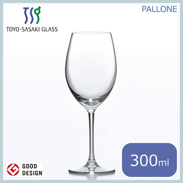 東洋佐々木ガラス パローネ ワイングラス 300ml (6個セット) (RN-10242CS)
