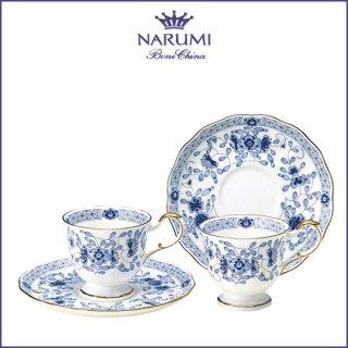 ナルミ ミラノ コーヒーカップ&ソーサーペア(ブルー) 200ml (9682-20515)