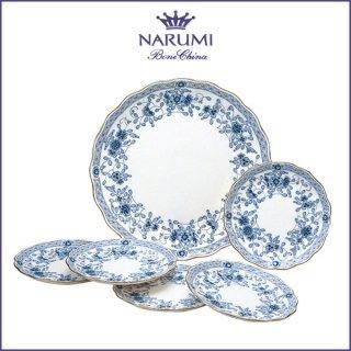 ナルミ ミラノ プチケーキセット(ブルー) 27cm 16cm (9682-21445)