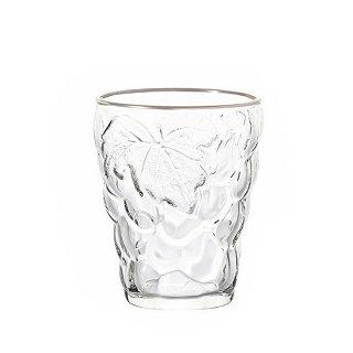 タンブラー 260ml 6個セット ぶどうのグラス プラチナリング アデリア 石塚硝子 (3292)