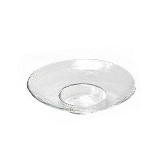 ガラス 皿 食器 アラカルトプレート 220 クリア3個セット ダブルエフ リムレット アデリア/石塚硝子(F-49366)