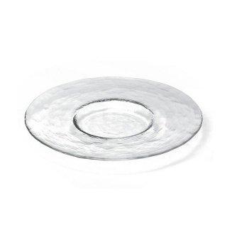 ガラス 皿 食器 プレート 265 クリア3個セット ダブルエフ リムレット アデリア/石塚硝子(F-49380)