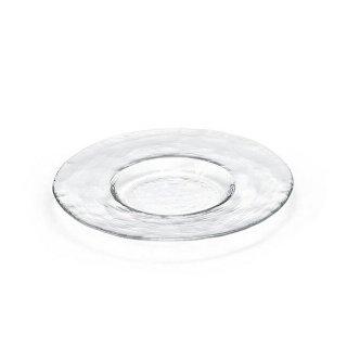 ガラス 皿 食器 プレート 230 クリア3個セット ダブルエフ リムレット アデリア/石塚硝子(F-49381)