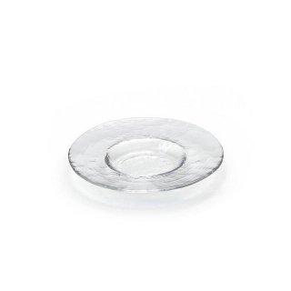 ガラス 皿 食器 プレート 180 クリア3個セット ダブルエフ リムレット アデリア/石塚硝子(F-49383)