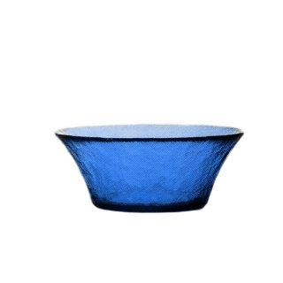 ガラス食器 ボウル 3個 FF bowl ボール125 ブルー ダブルエフ FF bowl アデリア 石塚硝子 (F-71380)