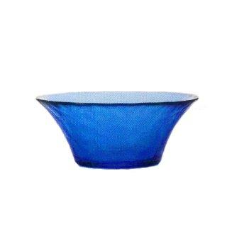 ガラス食器 ボウル 3個 FF bowl ボール145 ブルー ダブルエフ FF bowl アデリア 石塚硝子 (F-71381)