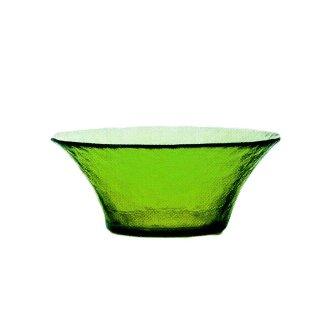 ガラス食器 ボウル 3個 FF bowl ボール145 リーフ ダブルエフ FF bowl アデリア 石塚硝子 (F-71383)