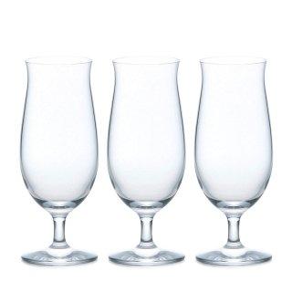 ビールグラス 335ml プレミアムビアー 3個セット ステムコレクション アデリア/石塚硝子(L-6657)