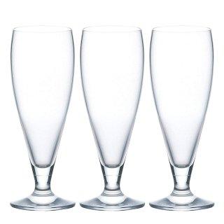 ビールグラス スタンダードビアー 3個セット 360ml ステムコレクション アデリア 石塚硝子 (L-6658)