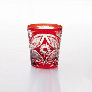 吉谷硝子 蝶 フリーカップ レッド 250ml [化粧箱入] (CO-12RD)