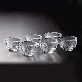 吉谷硝子 かまくら 酒盃 6個セット [耐熱ガラス] (KK-6129-6)