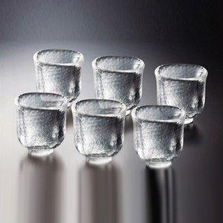 吉谷硝子 かまくら ぐいのみ 6個セット [耐熱ガラス] (KK-6134-6)