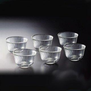 吉谷硝子 かまくら 湯呑 6個セット [耐熱ガラス] (KK-6137-6)