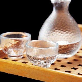 吉谷硝子 かまくら 酒器セット [耐熱ガラス] [化粧箱入] (KK-6139-29)