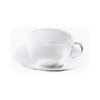 吉谷硝子 耐熱カップ&ソーサー 170ml (YTC-1701)